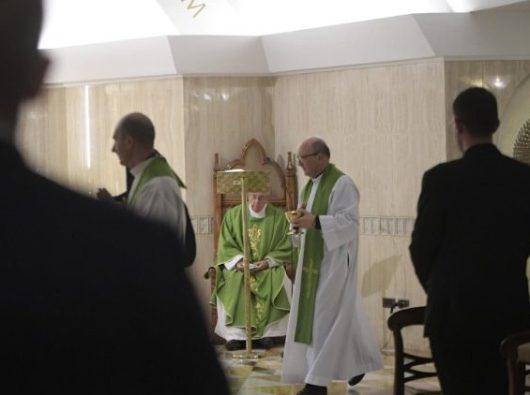 Misa di Casa Santa Maria. Vatican Media