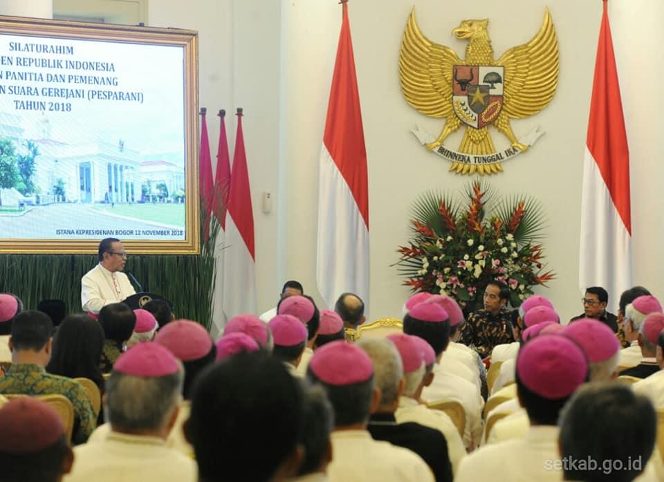 Para uskup dan Jokowi4