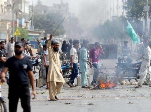 Protes di Pakistan menyusul pembebasan Asia Bibi (ANSA)