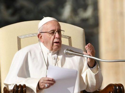 Paus Fransiskus dalam Audiensi Umum/AFP