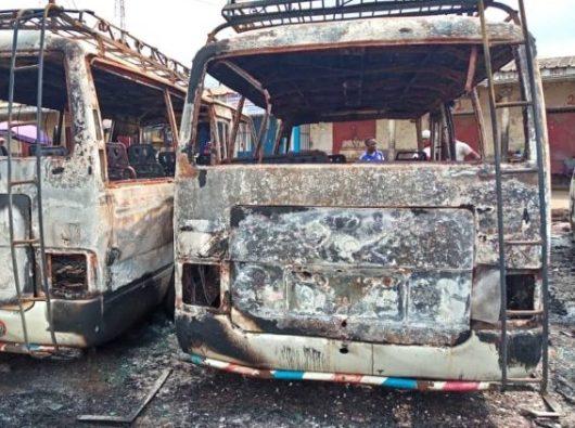Krusuhan Kamerun. Foto AFP