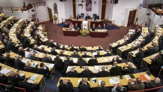 Para uskup Perancis menghadiri Sidang Pleno mereka di Lourdes  (AFP)