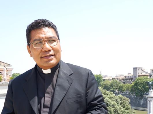 Pastor Markus Solo SVD. (dokumen pribadi)