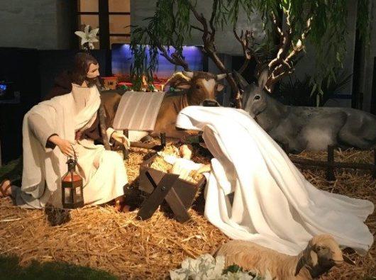 """""""100 Kandang Natal di Vatikan"""" (Vatican Media)"""