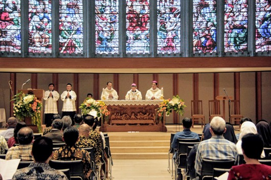 Misa Syukur 50 Tahun Fakultas Filsafat Unpar. PEN@ Katolik/iy