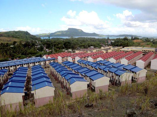 Desa Paus Fransiskus akan dihuni oleh 566 keluarga yang selamat dari Topan Yolanda di Provinsi Leyte. FILIPINA CARITAS