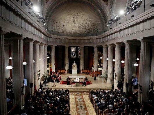 Pro-Katedral Santa Maria Dublin, Irlandia. (AFP)