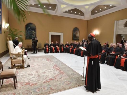 sidang pleno Kongregasi Vatikan untuk Ibadat Ilahi dan Disiplin Sakramen. VATICAN MEDIA