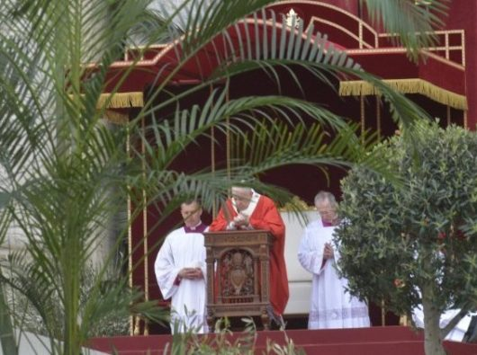 Minggu Palma Paus 2