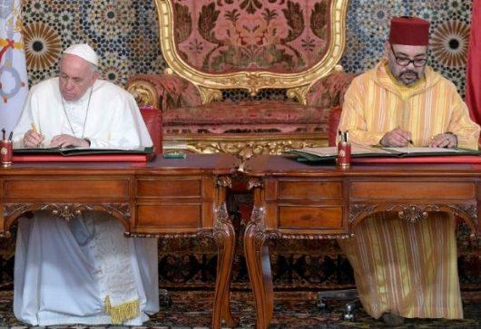 Paus dan Raja Maroko