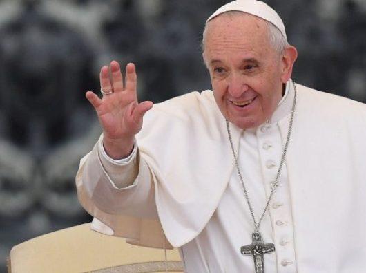 Paus Fransiskus dalam audiensi umum (AFP)
