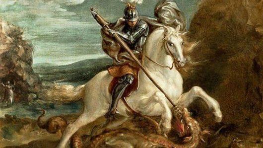 Santo Gregorius membunuh naga