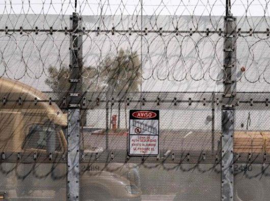 Perbatasa Meksiko dan AS. AFP