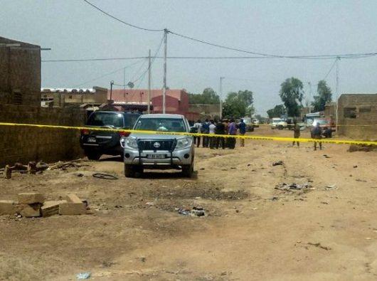 Operasi anti-teroris di ibu kota Ouagadougou (AFP)