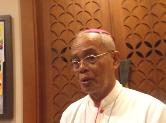 Uskup Agats-Asmat Mgr Aloysius Murwito OFM. PEN@ Katolik/krm