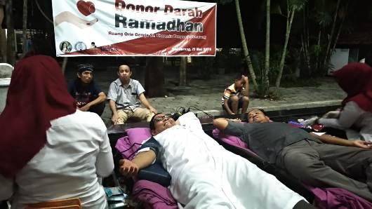Donor Darah Ramadhan
