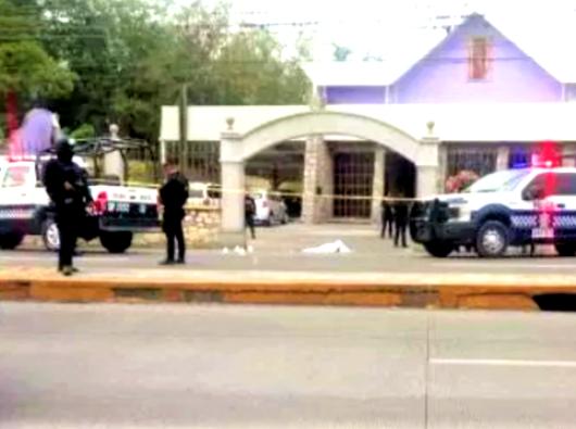 Dua OMK pria tewas di depan gereja Bunda Kita dari Guadalupe