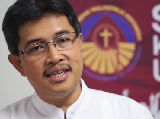 Sekretaris Eksekutif Komisi Kerasulan Awam KWI Pastor Christian Siswantoko Pr. Foto ari mirifica.net