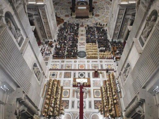Paus Fransiskus merayakan Misa Pembukaan Sidang Umum Caritas Internationalis  (Vatican Media)