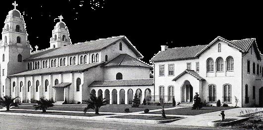 Gereja tua Gembala Baik di Beverly Hills