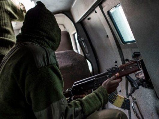(Foto file) Pasukan keamanan berpatroli di jalan-jalan di Nigeria  (AFP)