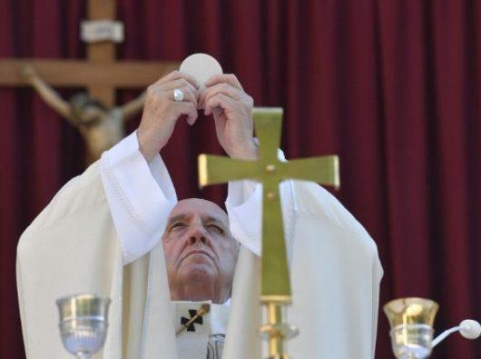 Paus Fransiskus merayakan Hari Raya Tubuh dan Darah Kristus (Vatican Media)