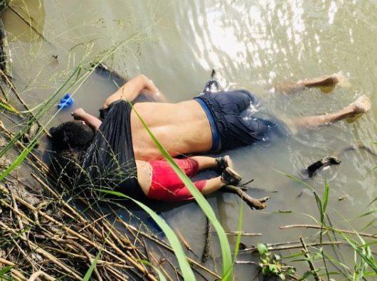 Mayat seorang ayah dan putrinya terlihat di Sungai Rio Grande
