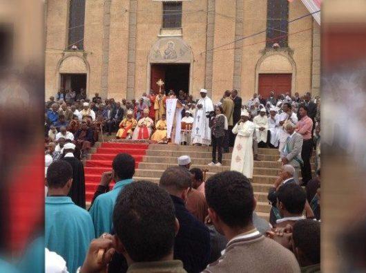 Keuskupan Agung Asmara rayakan pesta tahunan