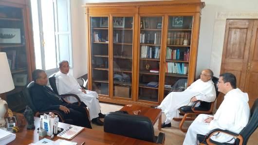 Pertemuan juga diikuti oleh Pastor Gerard Francisco Timoner III OP, mantan pemimpin Provinsi OP Filipina yang kini menjadi Socius Asia Pasifik (paling kanan) (PEN@ Katolik/mingdryop