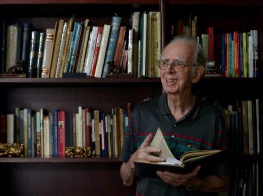 Pastor Adolf Heuken SJ. Foto KOMPAS/WAWAN H PRABOWO