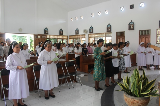 Suasana Ibadat Sabda (PEN@ Katolik/pcp)