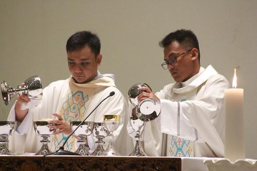 Pastor Bayu dan Pastor Andre