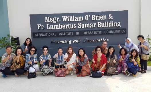 Beberapa peserta yang hadir dari Indonesia
