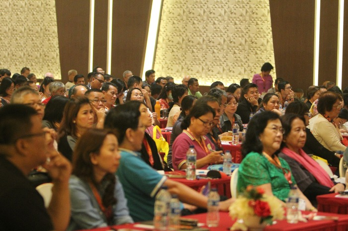 Sebagian peserta konferensi eksorsisme (PEN@ Katolik/samuel)