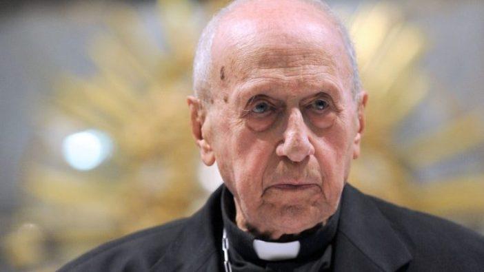 Kardinal Roger Etchegaray (1922-2019).  (AFP)