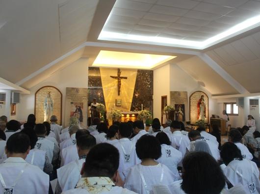 Misa Penutupan Retret Nasional Persaudaraan Dominikan Awam disertai penerimaan dan pengucapan janji serta Janji Kekal (PEN@ Katolik/pcp)