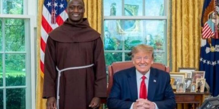 Bruder Tabichi bertemu bertemu Presiden AS Donald Trump (Foto File PBB)