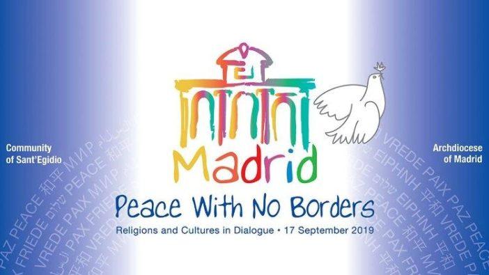 Logo Pertemuan Doa untuk Perdamaian tahun ini: Perdamaian tanpa batas