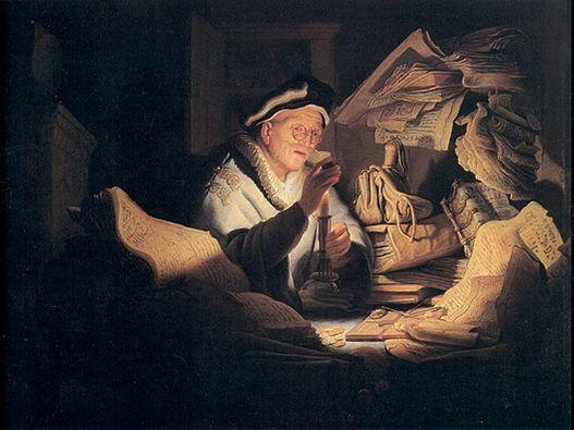 Bendahara yang tidak jujur. Gambar diambil dari katolisitas.org
