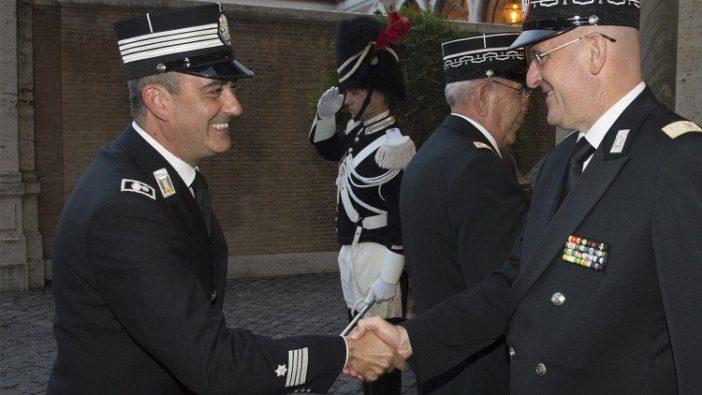 Kiri: Gianluca Gauzzi Broccoletti, komandan baru Korps Gendarmerie Vatikan