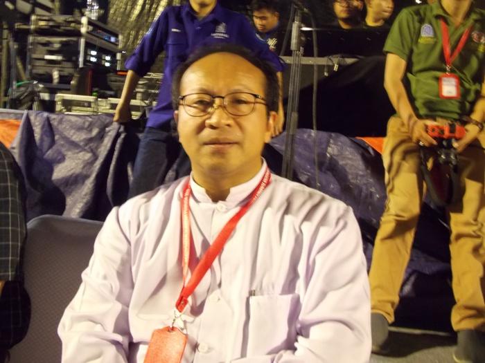 Kepala Paroki Katedral Jakarta Pastor Albertus Hani Rudi Hartoko SJ  (PEN@ Katolik/km)