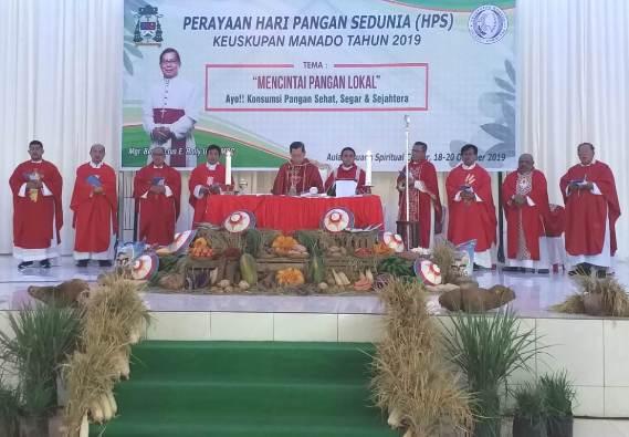 Misa HPS 2019 Keuskupan Manado (PEN@ Katolik/af)