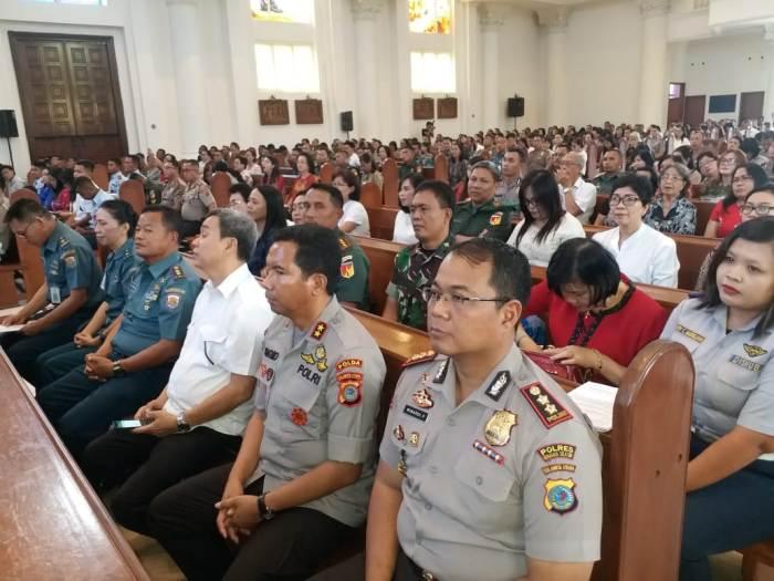 Suasana peserta Misa (PEN Katolik/af)