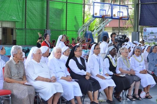Para suster SFIC dari Belanda, Filipina dan Kenya hadir (PEN@ Katolik/smssfic)