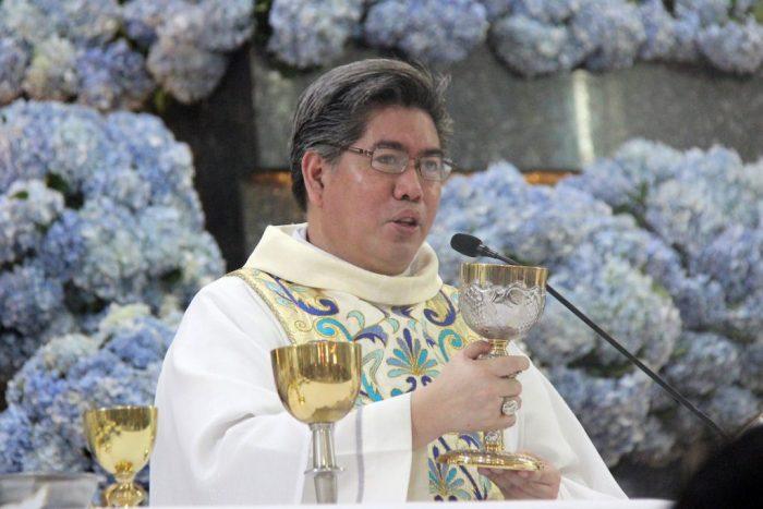 Uskup Auksilier Cebu merayakan Misa pada Pesta Nuestra Señora de Regla di tempat ziarah nasionalnya di Kota Lapu-Lapu 21 November. (Foto  Sammy Navaja)