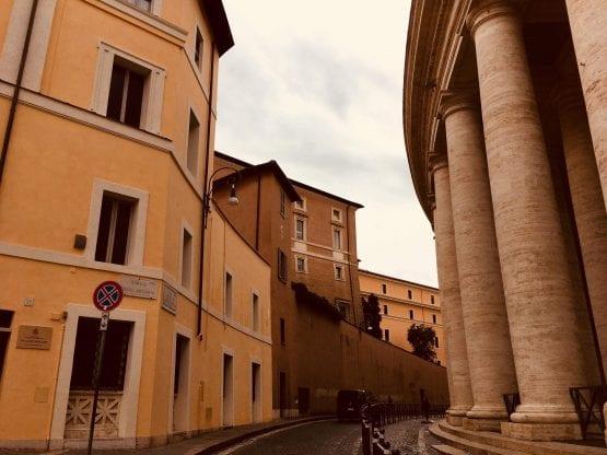 Palazzo Migliori untuk orang miskin diberkati Paus, Kredit oto  Piotr Żyłka/courtesy to Crux