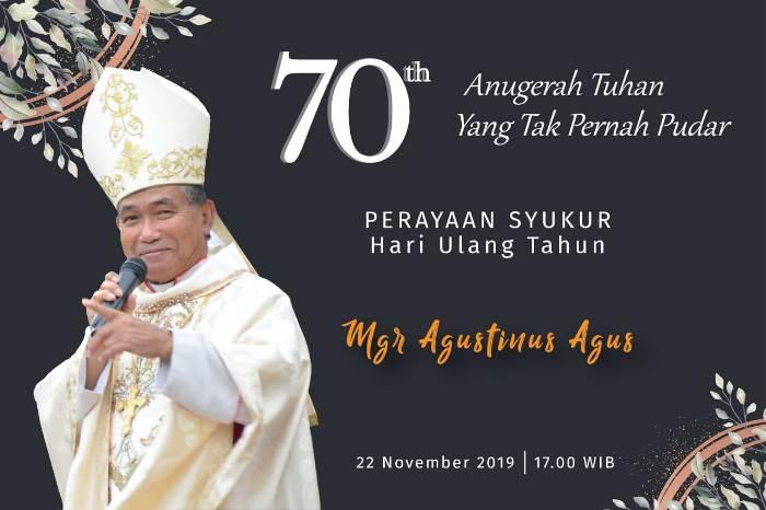 Ulang Tahun Mgr Agus