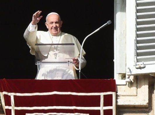 Paus Fransiskus dalam Angelus (Media Vatican)