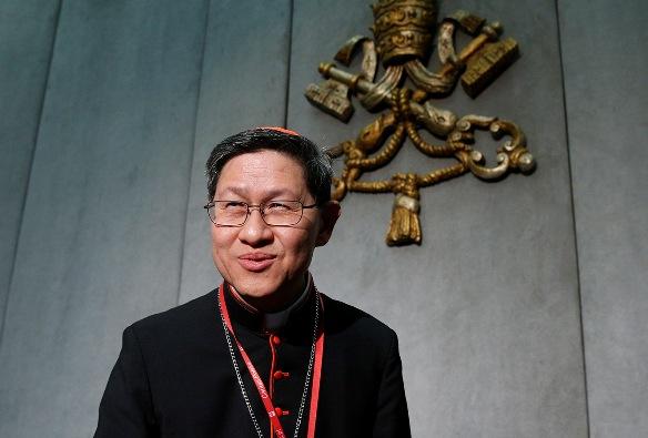 Uskup Agung Manila Kardinal Luis Antonio Tagle (PAUL HARING dari CNS)