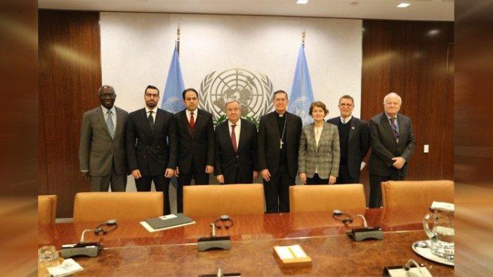 Komite Tinggi Persaudaraan Manusia bertemu Sekjen PBB